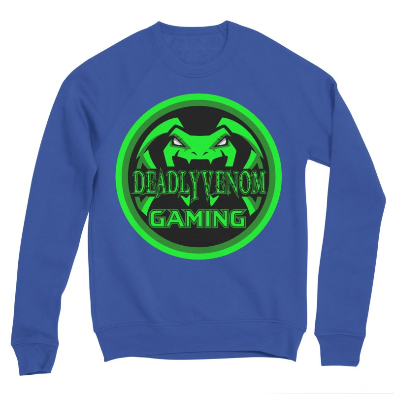 Deadly Venom Gaming Logo Men's Sponge Fleece Sweatshirt by DVCustoms's Artist Shop