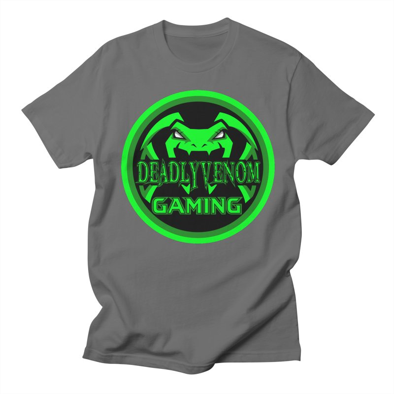 Deadly Venom Gaming Logo Men's T-Shirt by DVCustoms's Artist Shop