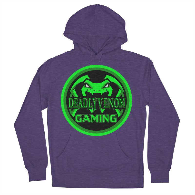 Deadly Venom Gaming Logo Women's French Terry Pullover Hoody by DVCustoms's Artist Shop