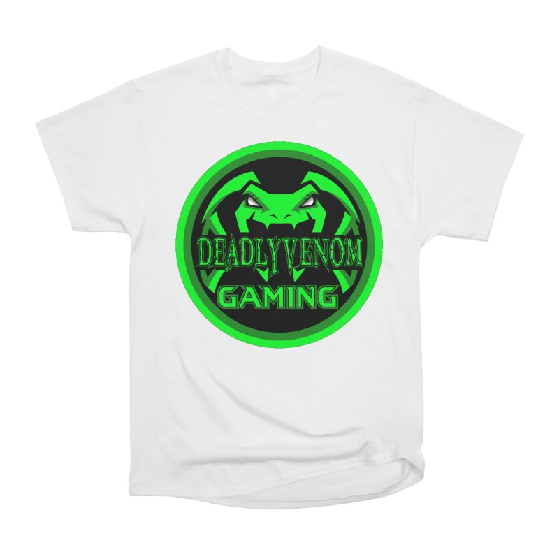 Deadly Venom Gaming Logo Men's Heavyweight T-Shirt by DVCustoms's Artist Shop