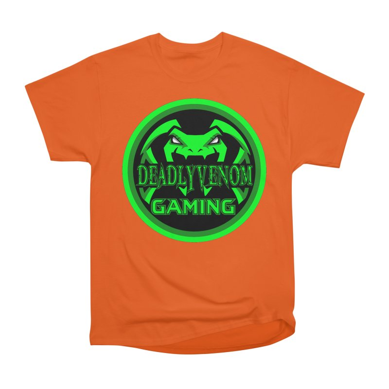 Deadly Venom Gaming Logo Women's Heavyweight Unisex T-Shirt by DVCustoms's Artist Shop