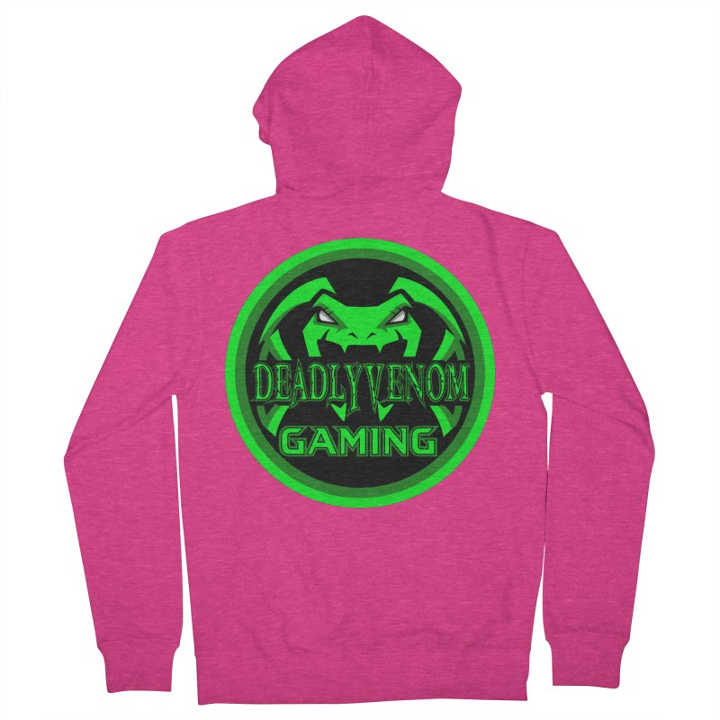 Deadly Venom Gaming Logo Women's French Terry Zip-Up Hoody by DVCustoms's Artist Shop