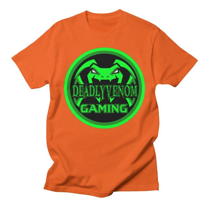 Deadly Venom Gaming Logo Women's Regular Unisex T-Shirt by DVCustoms's Artist Shop