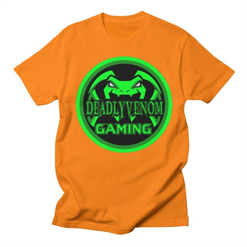 Deadly Venom Gaming Logo Men's Regular T-Shirt by DVCustoms's Artist Shop