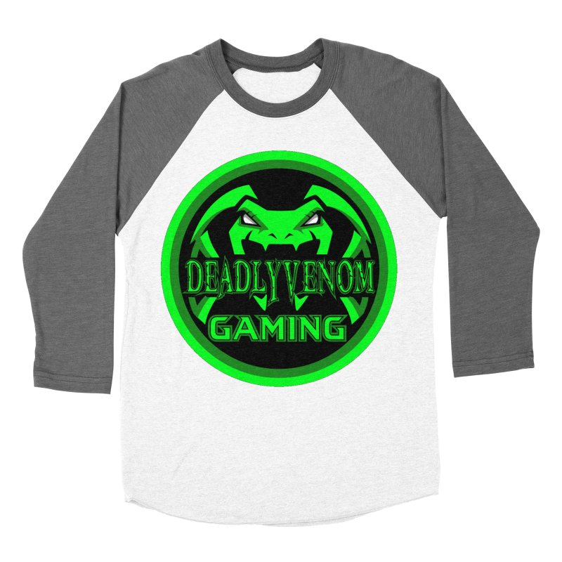 Deadly Venom Gaming Logo Men's Baseball Triblend Longsleeve T-Shirt by DVCustoms's Artist Shop