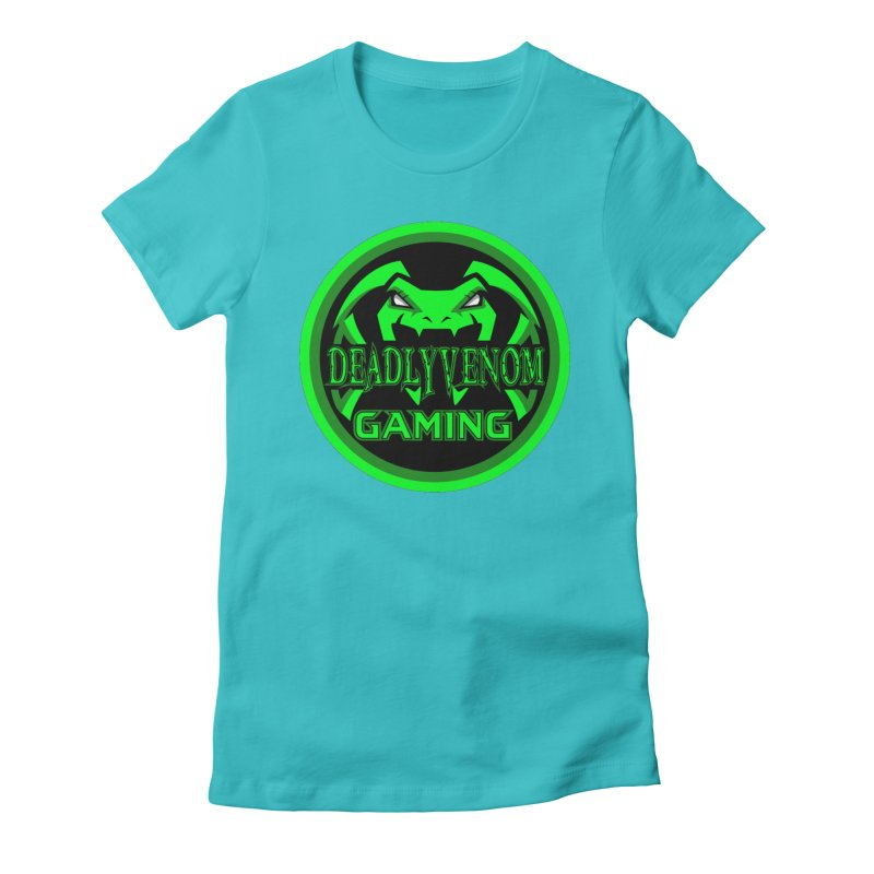 Deadly Venom Gaming Logo Women's Fitted T-Shirt by DVCustoms's Artist Shop