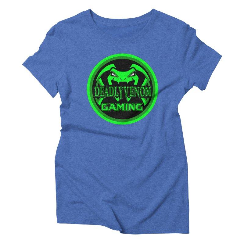 Deadly Venom Gaming Logo Women's Triblend T-Shirt by DVCustoms's Artist Shop