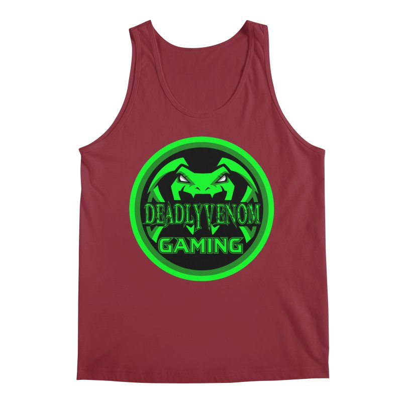 Deadly Venom Gaming Logo Men's Regular Tank by DVCustoms's Artist Shop