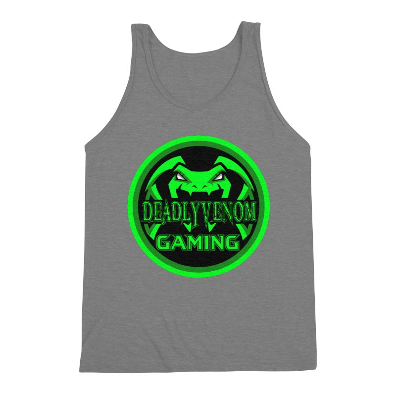 Deadly Venom Gaming Logo Men's Triblend Tank by DVCustoms's Artist Shop