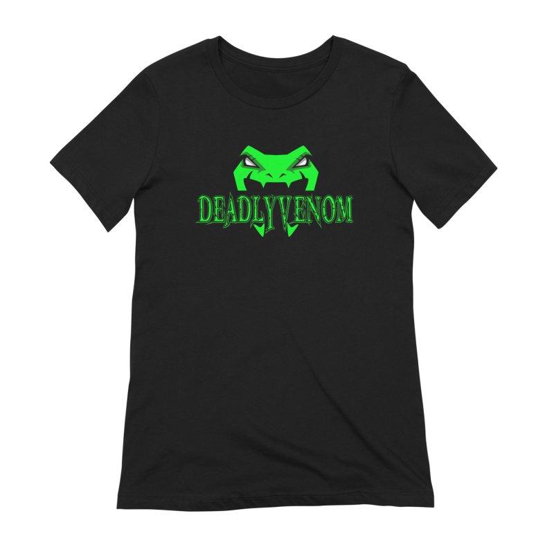 Deadly Venom Logo 2 Women's Extra Soft T-Shirt by DVCustoms's Artist Shop