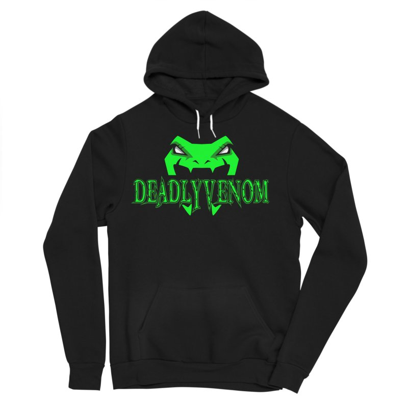 Deadly Venom Logo 2 Men's Sponge Fleece Pullover Hoody by DVCustoms's Artist Shop