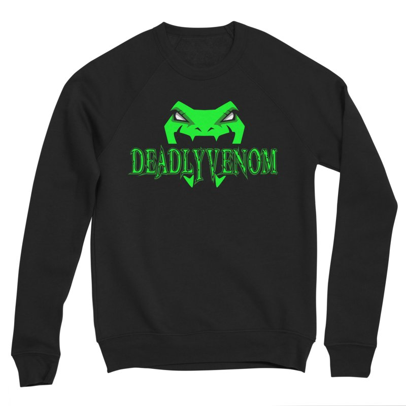 Deadly Venom Logo 2 Men's Sponge Fleece Sweatshirt by DVCustoms's Artist Shop