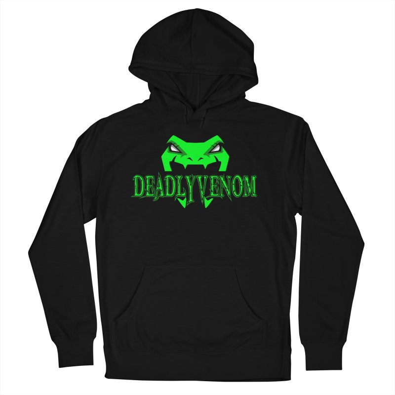 Deadly Venom Logo 2 Women's French Terry Pullover Hoody by DVCustoms's Artist Shop