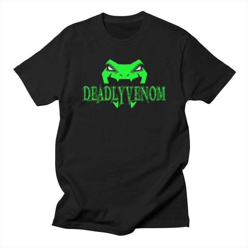 Deadly Venom Logo 2 Women's Regular Unisex T-Shirt by DVCustoms's Artist Shop