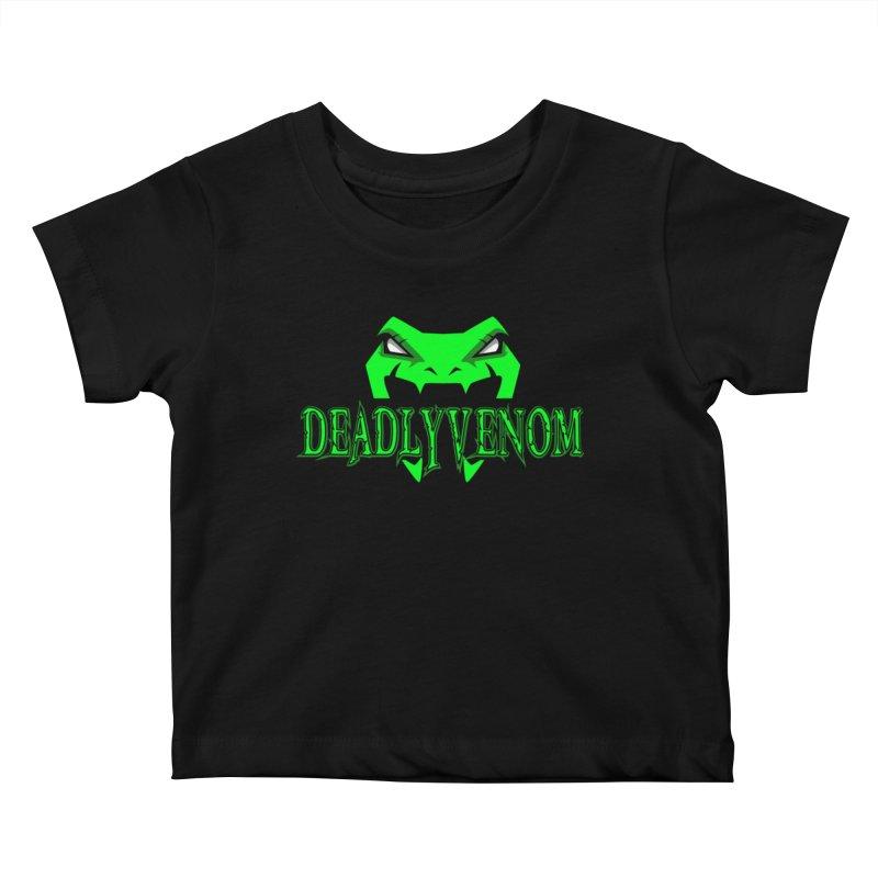 Deadly Venom Logo 2 Kids Baby T-Shirt by DVCustoms's Artist Shop