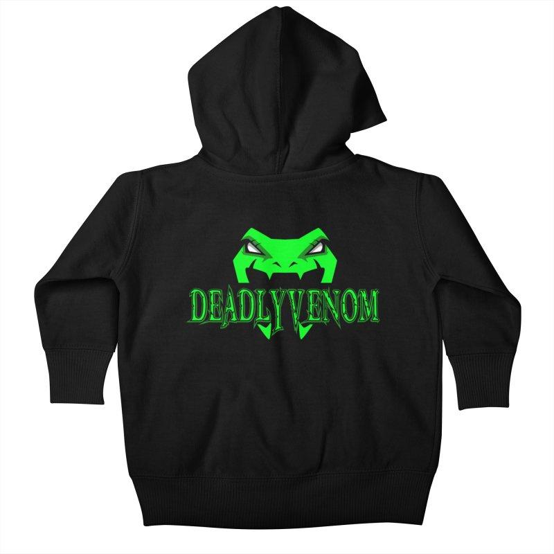Deadly Venom Logo 2 Kids Baby Zip-Up Hoody by DVCustoms's Artist Shop
