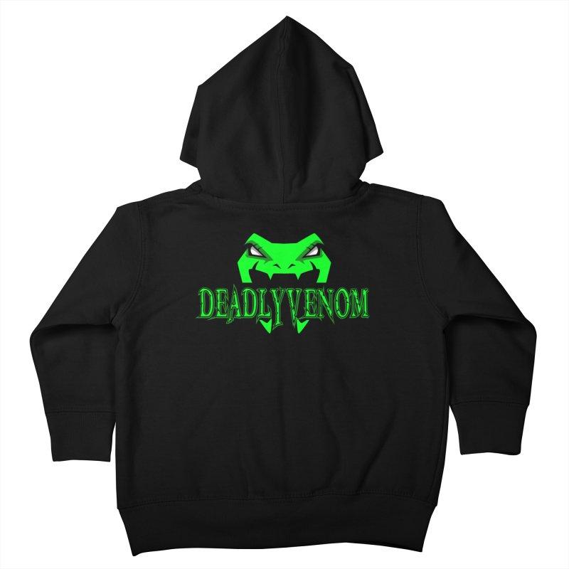 Deadly Venom Logo 2 Kids Toddler Zip-Up Hoody by DVCustoms's Artist Shop