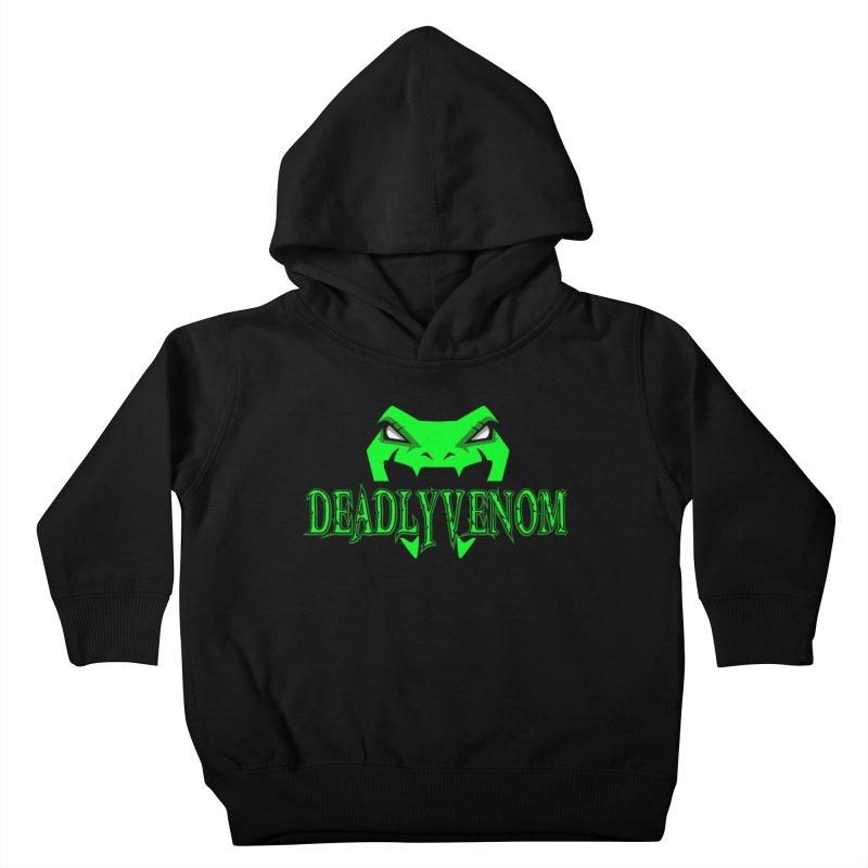 Deadly Venom Logo 2 Kids Toddler Pullover Hoody by DVCustoms's Artist Shop