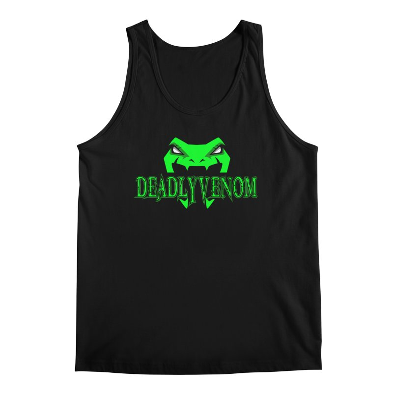 Deadly Venom Logo 2 Men's Regular Tank by DVCustoms's Artist Shop