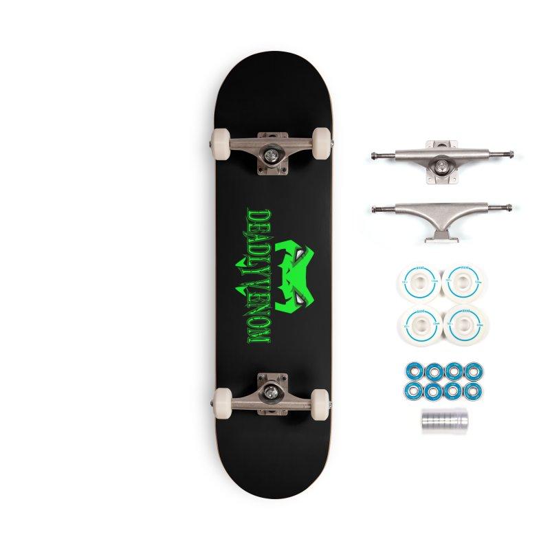 Deadly Venom Logo 2 Accessories Complete - Basic Skateboard by DVCustoms's Artist Shop