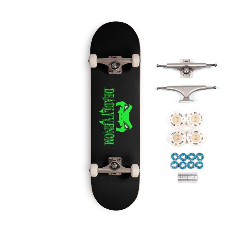 Deadly Venom Logo 2 Accessories Complete - Premium Skateboard by DVCustoms's Artist Shop