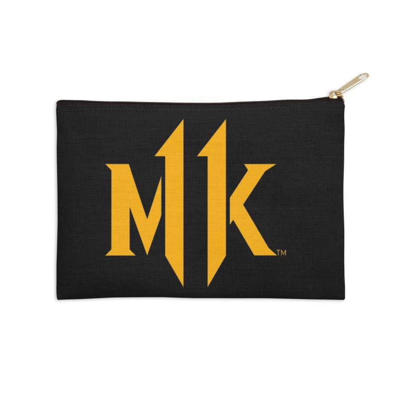 Mortal Kombat 11 Logo Accessories Zip Pouch by DVCustoms's Artist Shop