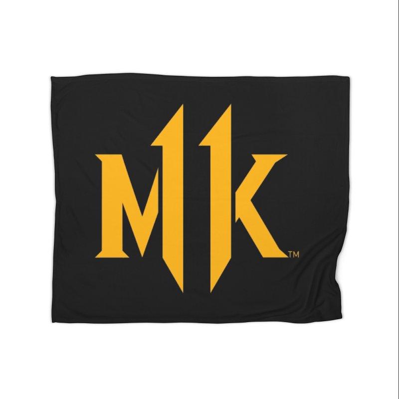 Mortal Kombat 11 Logo Home Fleece Blanket Blanket by DVCustoms's Artist Shop