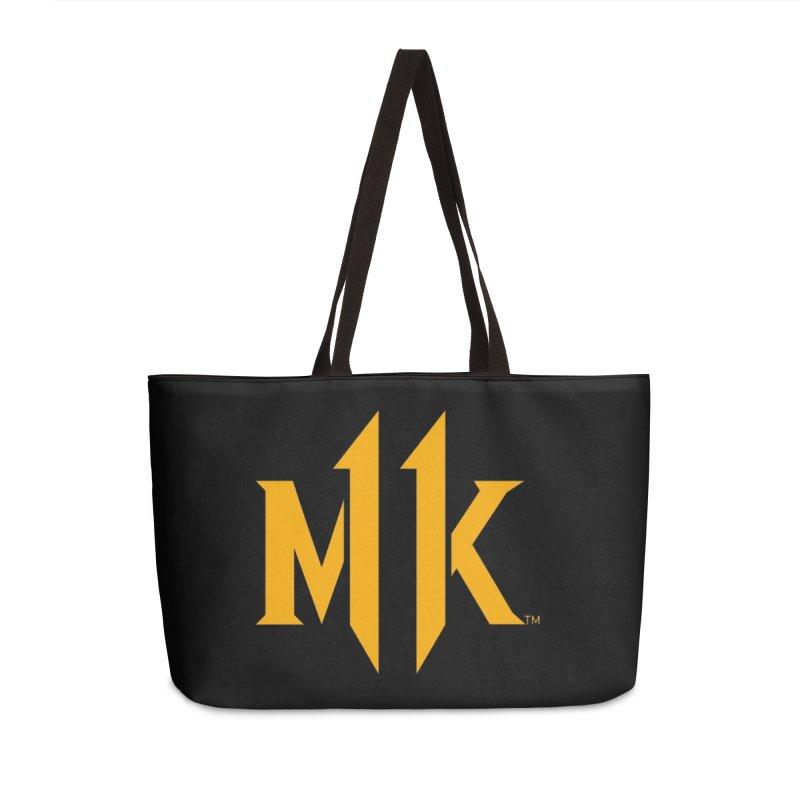 Mortal Kombat 11 Logo Accessories Weekender Bag Bag by DVCustoms's Artist Shop