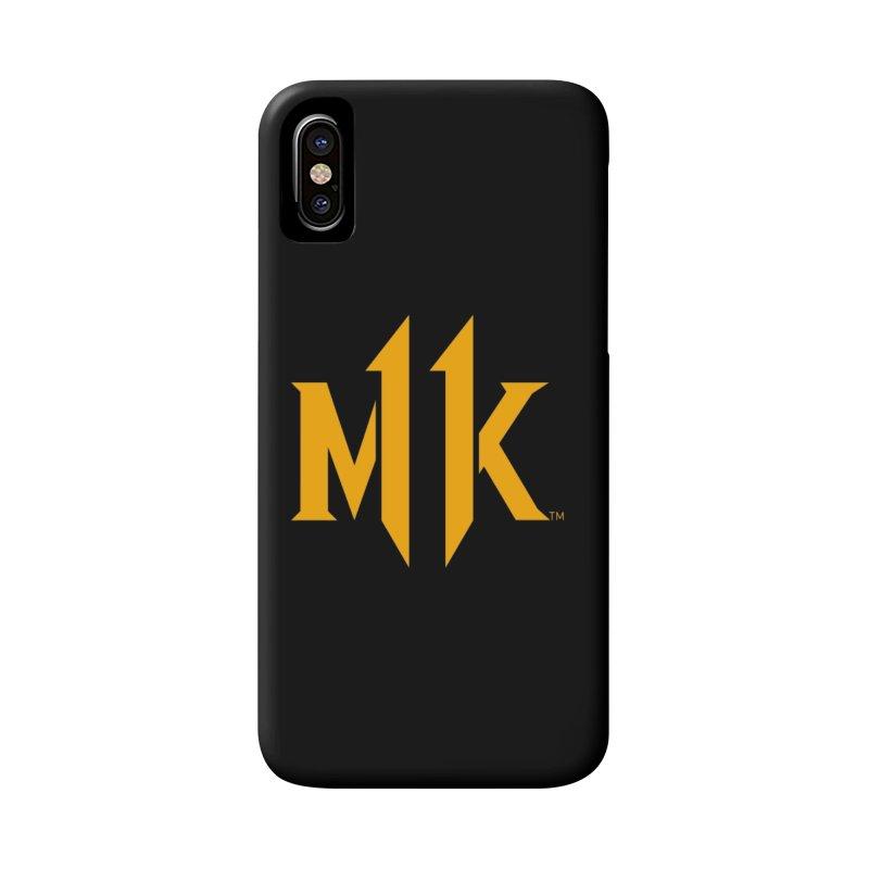 Mortal Kombat 11 Logo Accessories Phone Case by DVCustoms's Artist Shop