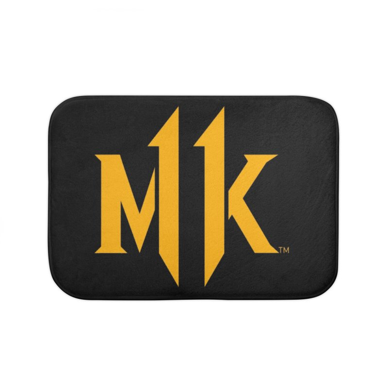 Mortal Kombat 11 Logo Home Bath Mat by DVCustoms's Artist Shop
