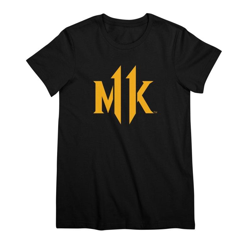 Mortal Kombat 11 Logo Women's Premium T-Shirt by DVCustoms's Artist Shop