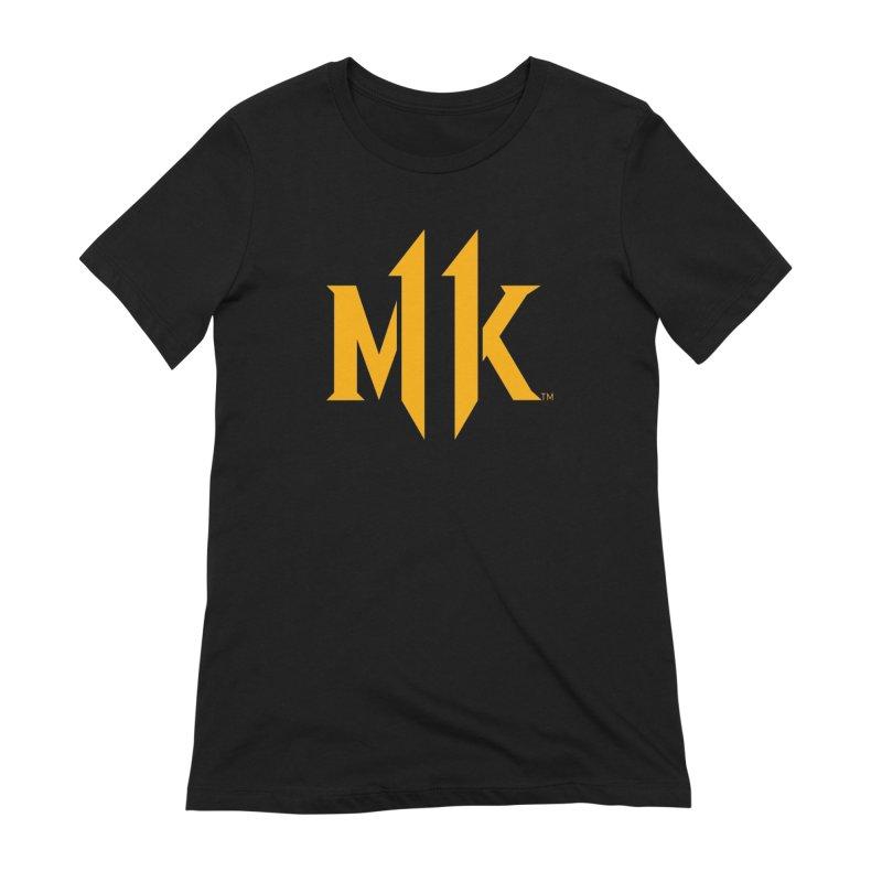 Mortal Kombat 11 Logo Women's Extra Soft T-Shirt by DVCustoms's Artist Shop