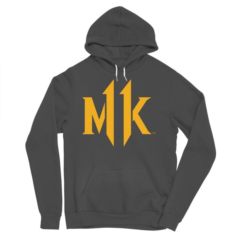 Mortal Kombat 11 Logo Men's Sponge Fleece Pullover Hoody by DVCustoms's Artist Shop