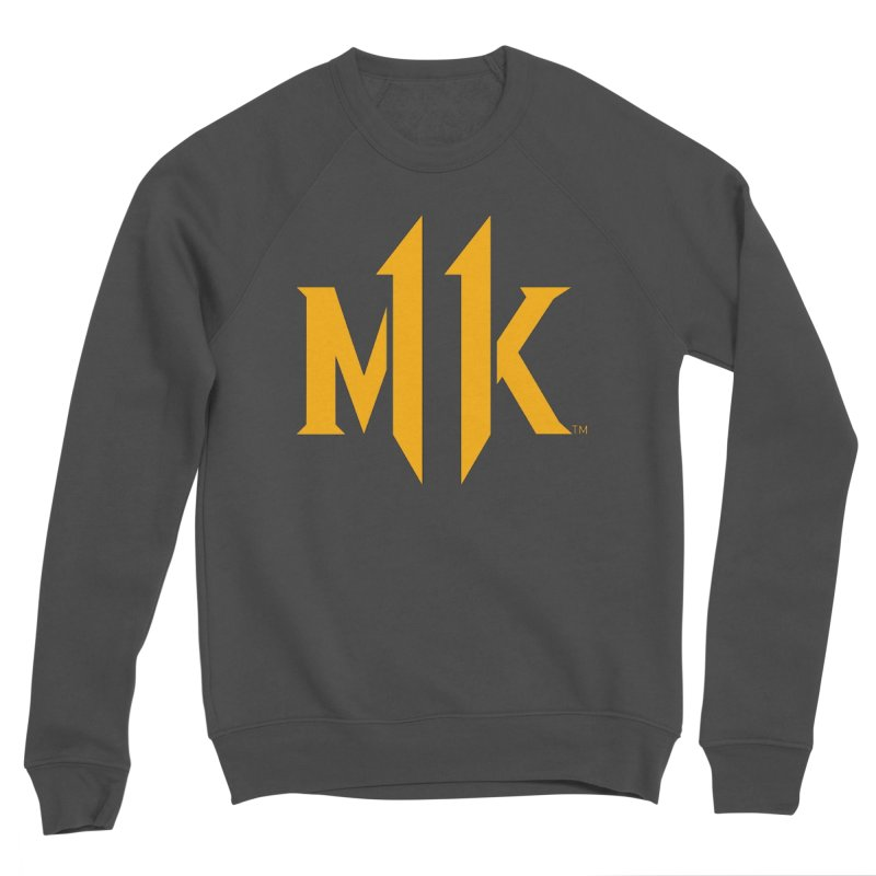 Mortal Kombat 11 Logo Men's Sponge Fleece Sweatshirt by DVCustoms's Artist Shop