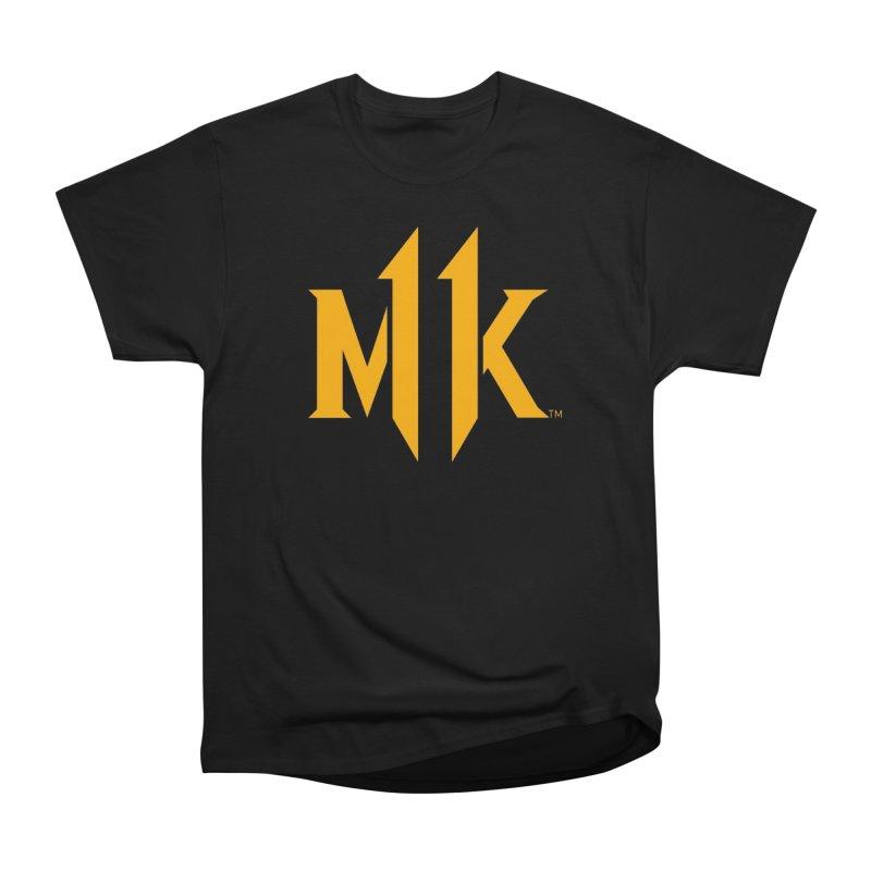 Mortal Kombat 11 Logo Men's Heavyweight T-Shirt by DVCustoms's Artist Shop