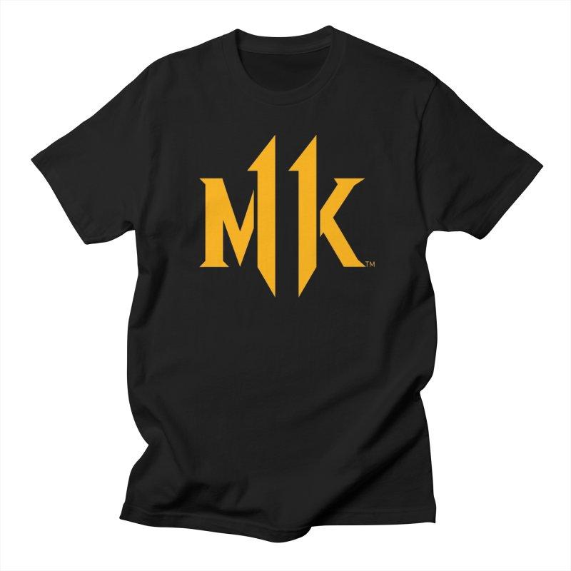 Mortal Kombat 11 Logo Women's Regular Unisex T-Shirt by DVCustoms's Artist Shop