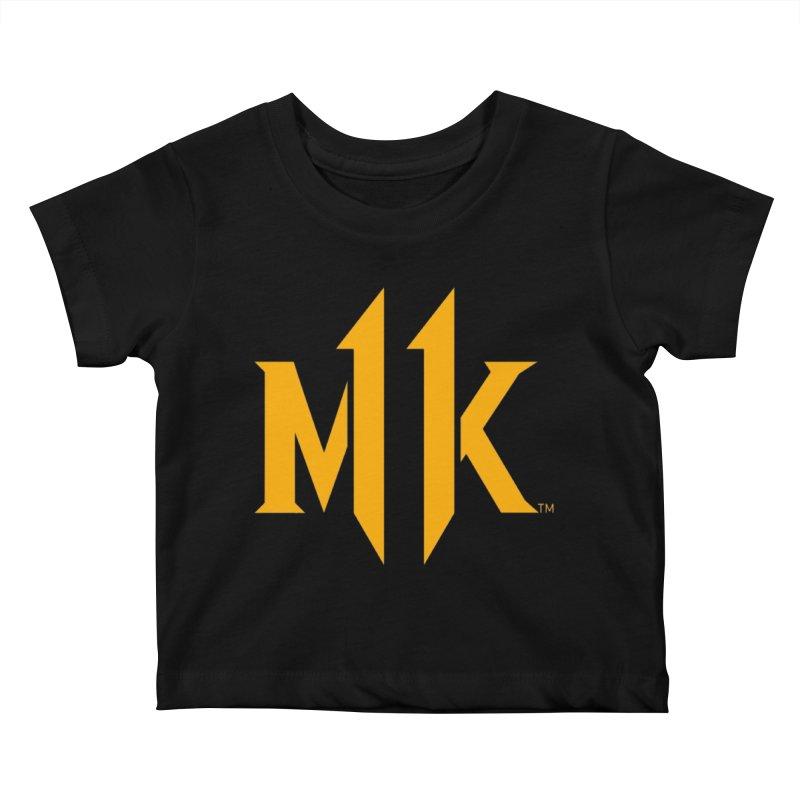Mortal Kombat 11 Logo Kids Baby T-Shirt by DVCustoms's Artist Shop
