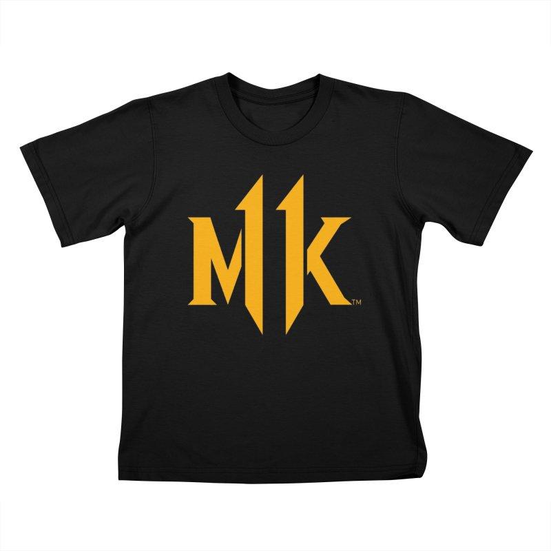 Mortal Kombat 11 Logo Kids T-Shirt by DVCustoms's Artist Shop