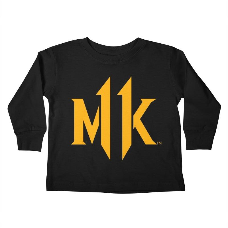 Mortal Kombat 11 Logo Kids Toddler Longsleeve T-Shirt by DVCustoms's Artist Shop