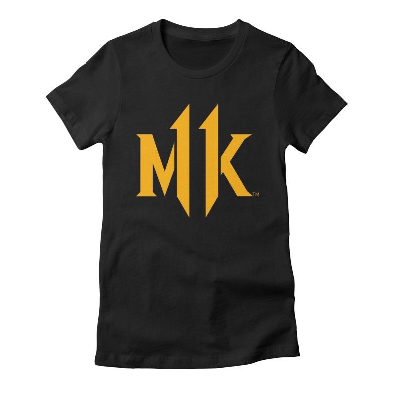 Mortal Kombat 11 Logo Women's Fitted T-Shirt by DVCustoms's Artist Shop