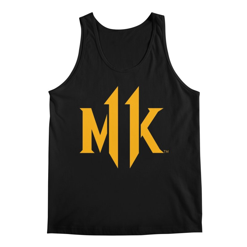 Mortal Kombat 11 Logo Men's Regular Tank by DVCustoms's Artist Shop