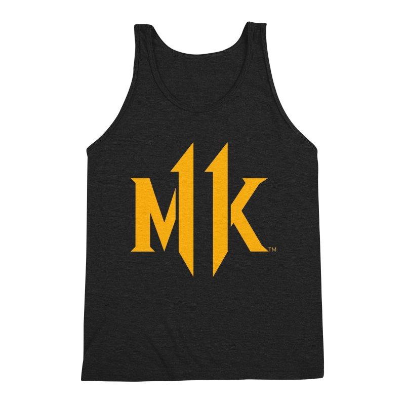 Mortal Kombat 11 Logo Men's Triblend Tank by DVCustoms's Artist Shop