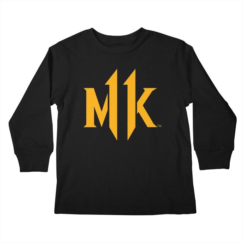 Mortal Kombat 11 Logo Kids Longsleeve T-Shirt by DVCustoms's Artist Shop