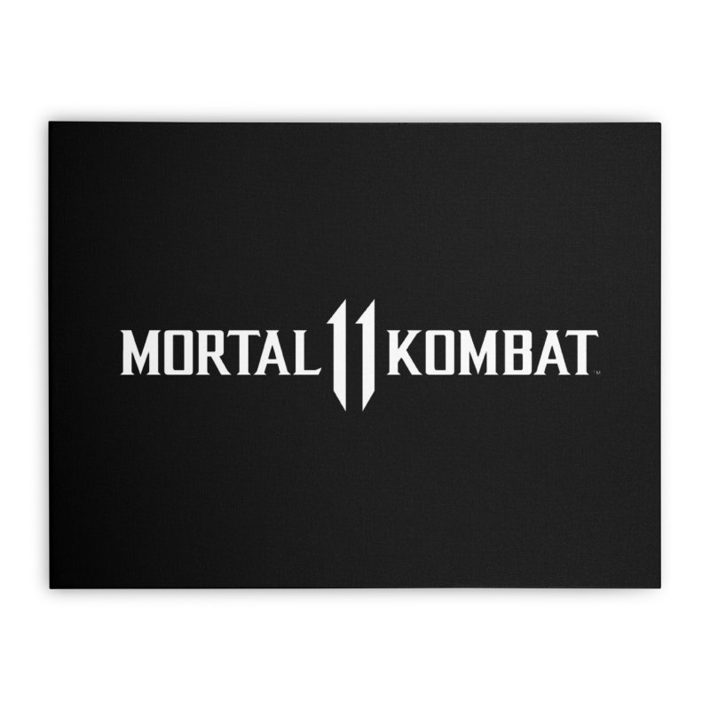 Mortal Kombat 11 Home Stretched Canvas by DVCustoms's Artist Shop