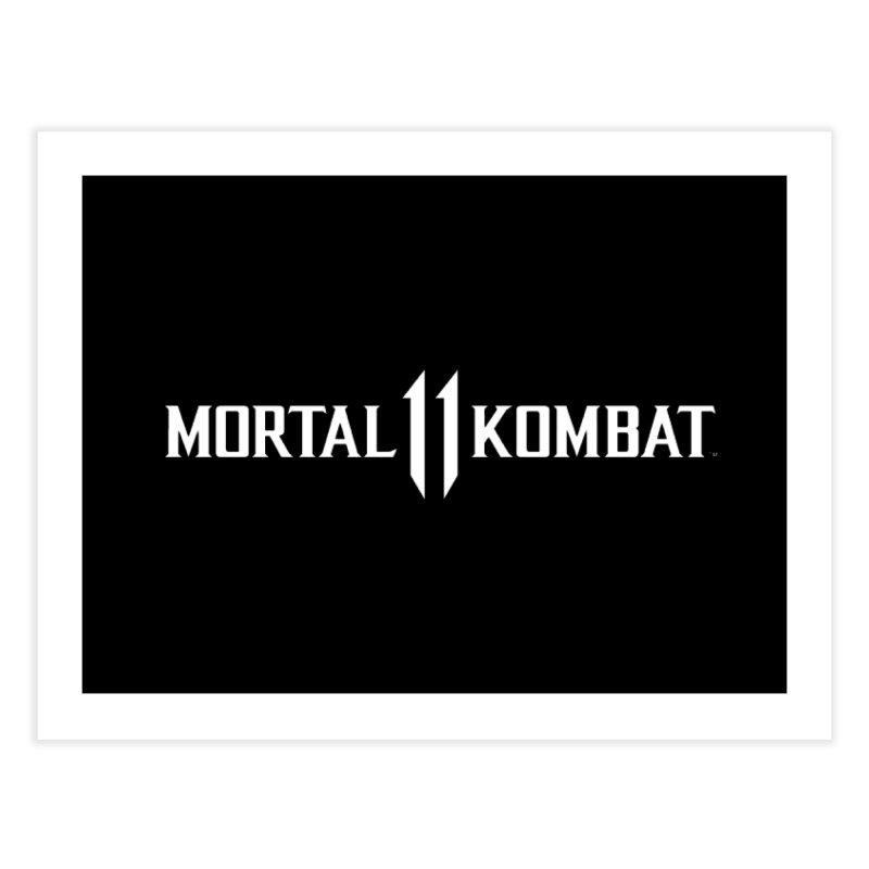 Mortal Kombat 11 Home Fine Art Print by DVCustoms's Artist Shop