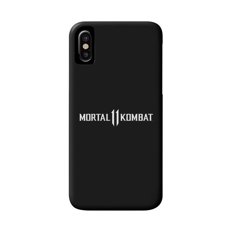 Mortal Kombat 11 Accessories Phone Case by DVCustoms's Artist Shop