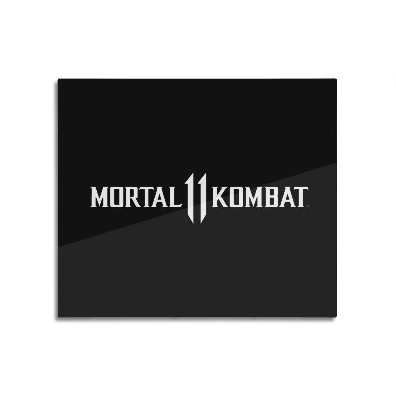 Mortal Kombat 11 Home Mounted Aluminum Print by DVCustoms's Artist Shop