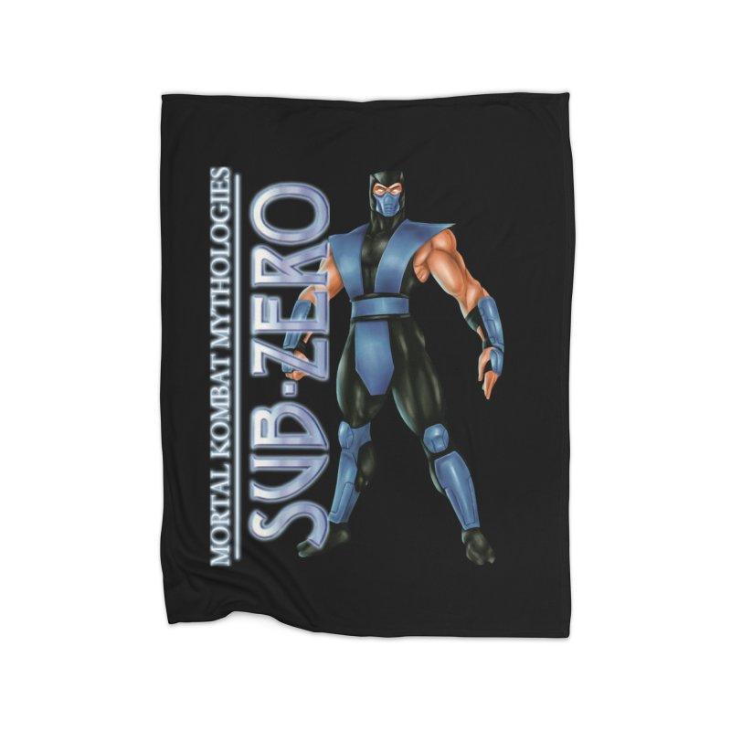Mortal Kombat Mythologies Sub-Zero Home Fleece Blanket Blanket by DVCustoms's Artist Shop