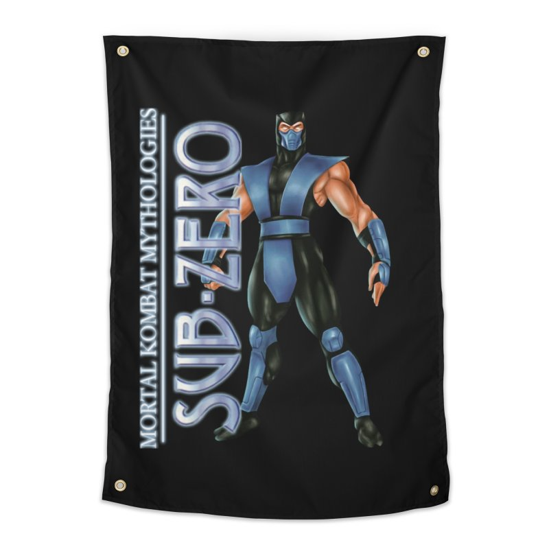 Mortal Kombat Mythologies Sub-Zero Home Tapestry by DVCustoms's Artist Shop