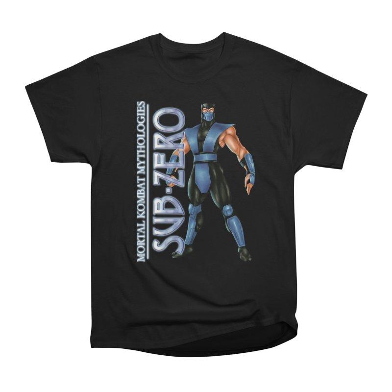 Mortal Kombat Mythologies Sub-Zero Men's Heavyweight T-Shirt by DVCustoms's Artist Shop